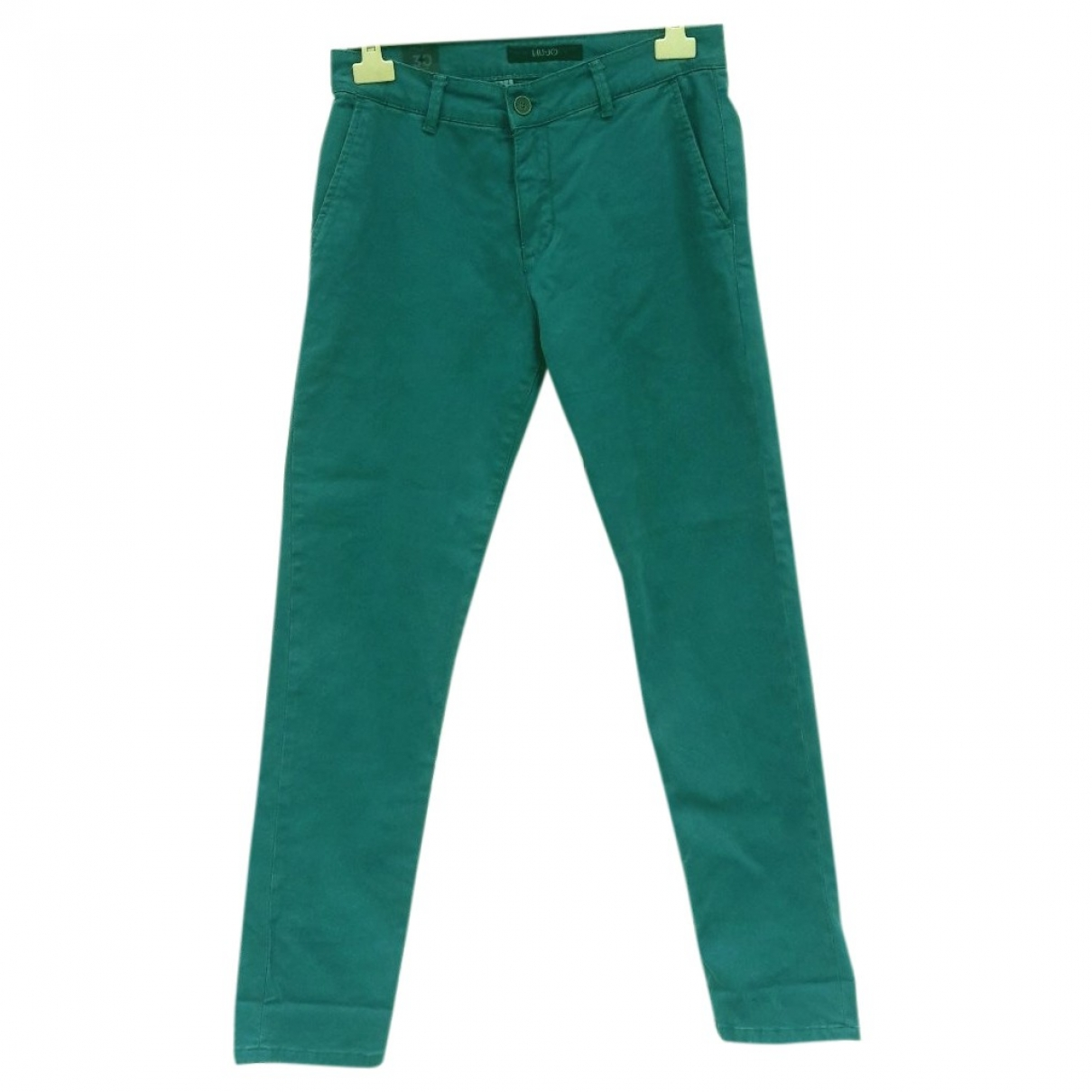 Liu.jo \N Green Cotton Trousers for Men 30 UK - US