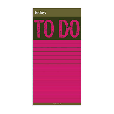 Tf Publishing Big To Do Magnet Memo Pad, One Size , Pink