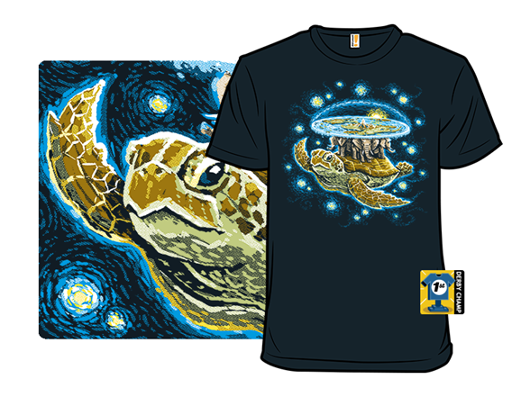 Endless Starry Night T Shirt