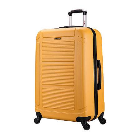 InUSA Pilot Lightweight Hardside 28 Inch Spinner, One Size , Orange
