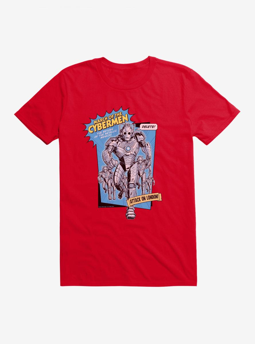 Doctor Who Cybermen March Of The Cybermen T-Shirt
