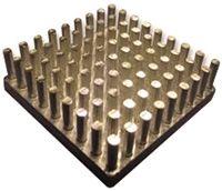Fischer Elektronik Heatsink, Universal Square Alu, 3.7K/W, 32.7 x 32.7 x 20mm, Adhesive Foil, Conductive Foil