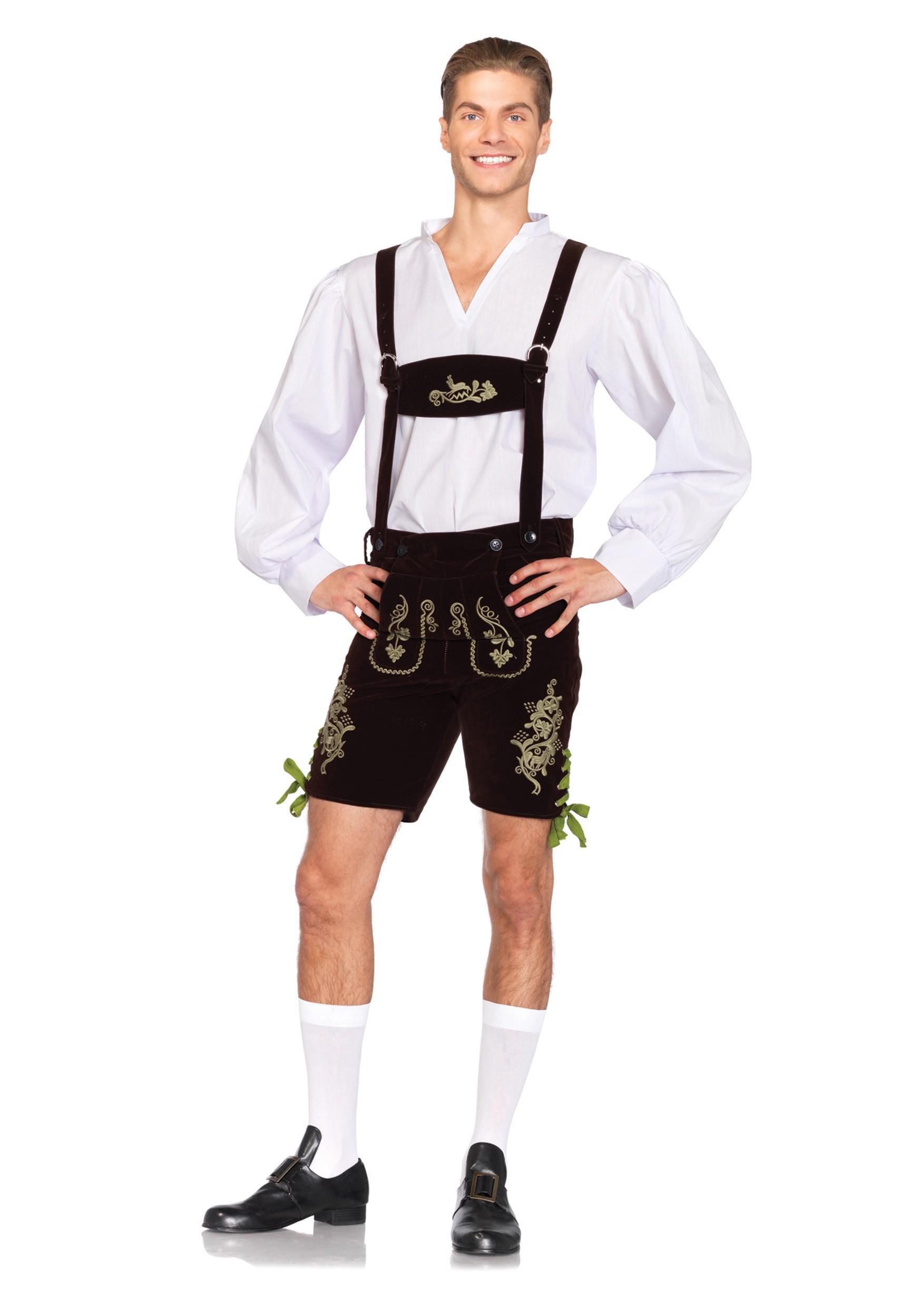 Costume Oktoberfest Lederhosen