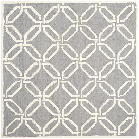 Safavieh Darius Chevron Hand Tufted Wool Rug, One Size , Gray