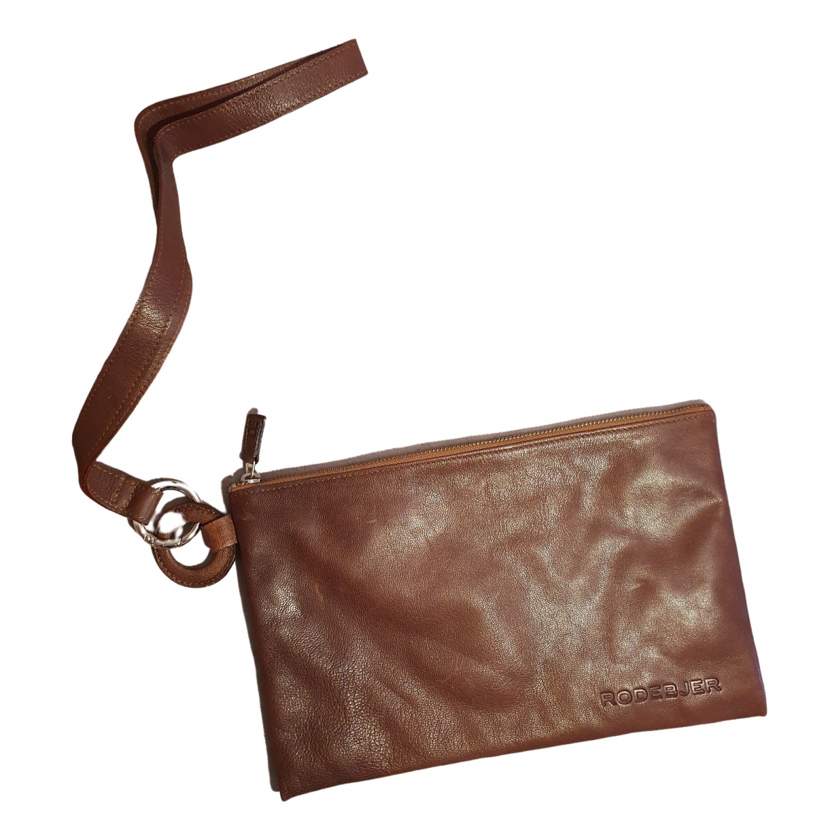 Rodebjer \N Brown Leather Clutch bag for Women \N