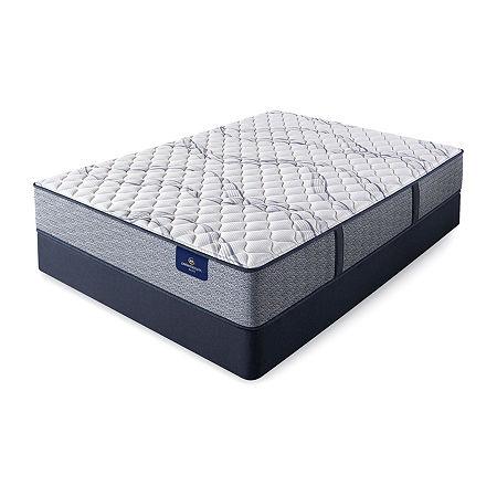 Serta Perfect Sleeper Shelburne Extra Firm - Mattress + Box Spring, One Size , Blue
