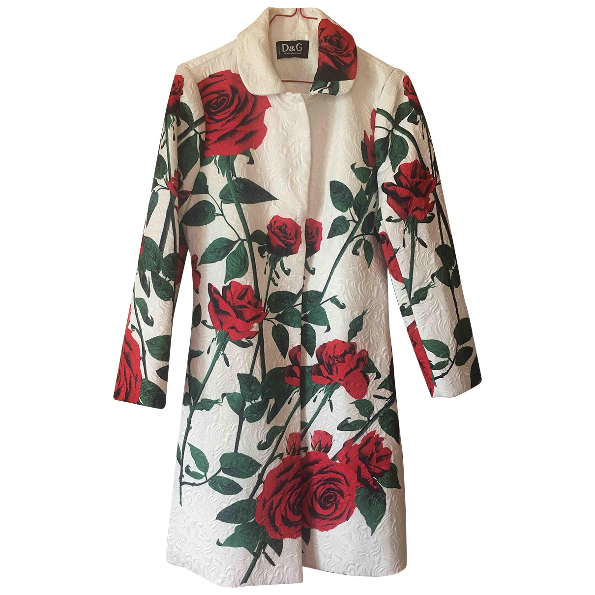 D&g \N Red Cotton coat for Women 40 IT