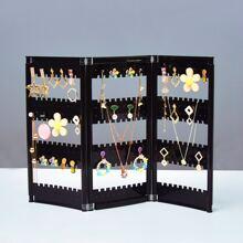 1pc Foldable Jewelry Display Rack