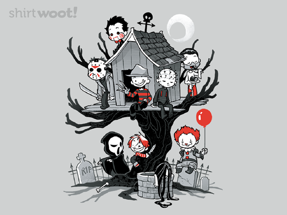 Horror Clubhouse T Shirt