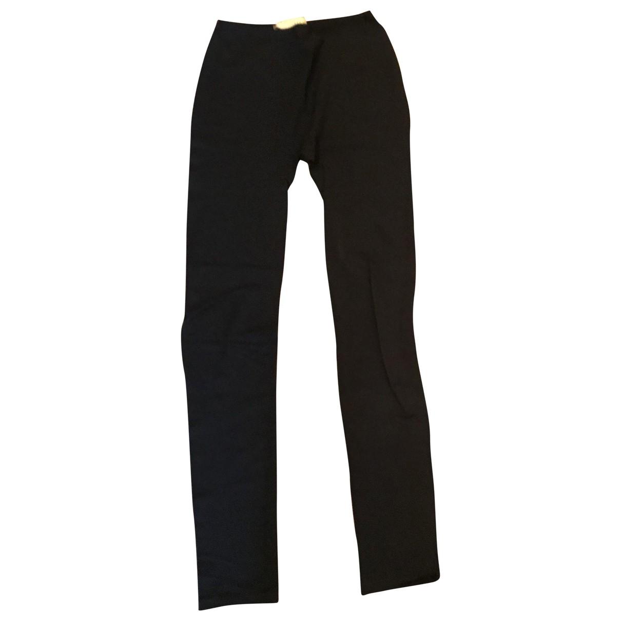 Valentino Garavani \N Black Trousers for Women XS International