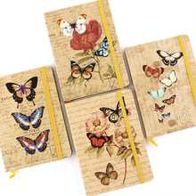 1pc Butterfly Print Notebook
