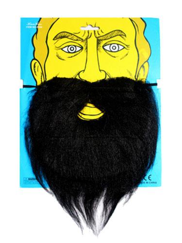 Milanoo Halloween Beard White Mixed Hair Accessories For Men