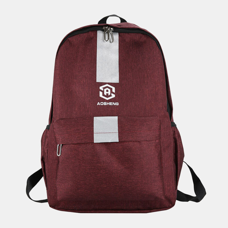Men Oxford Cloth Large Capacity Casual Outdoor Students School Bag Backpack