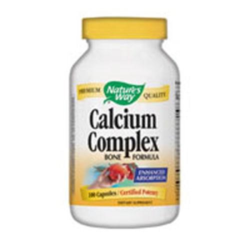 Calcium Complex 100 Caps by Nature's Way