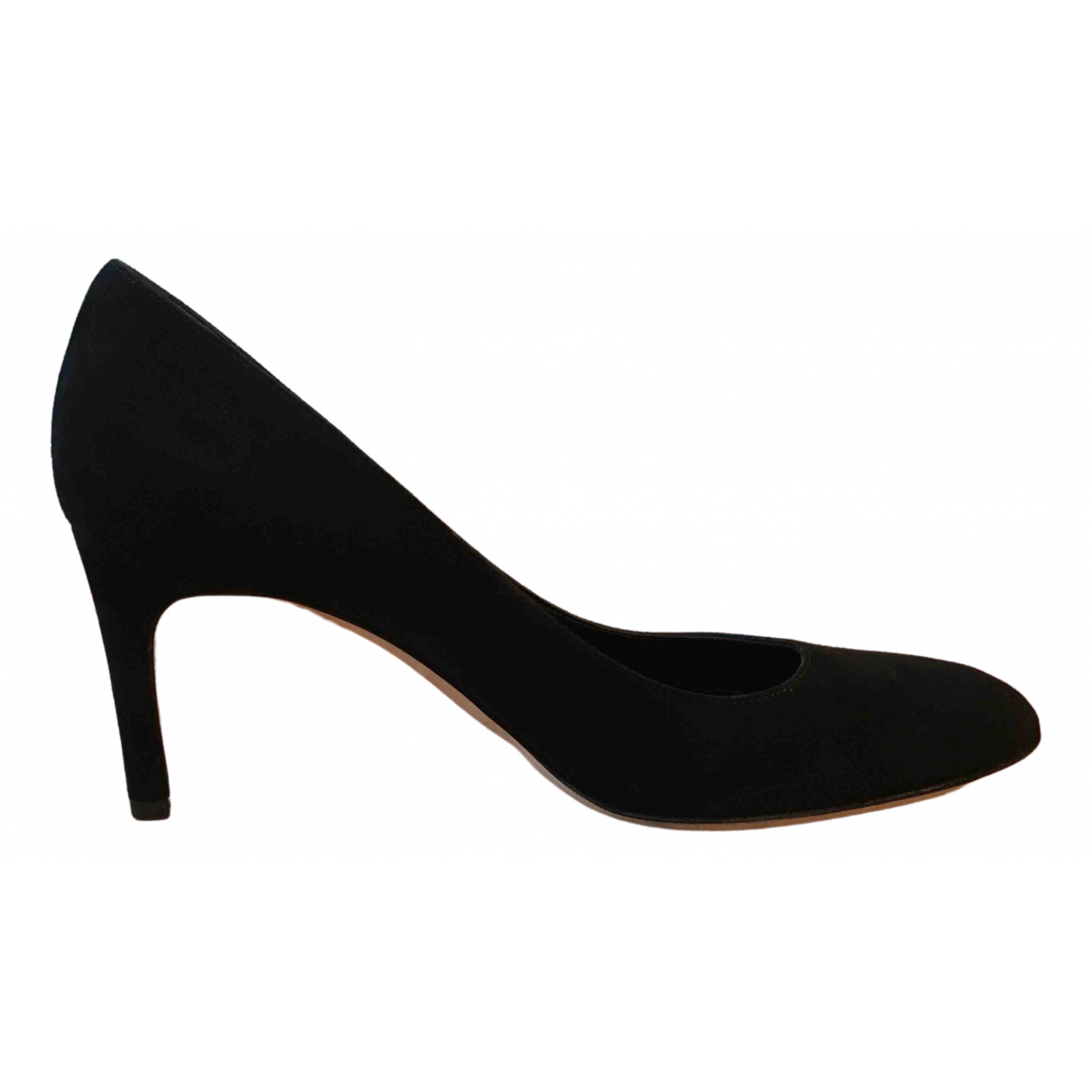Sergio Rossi \N Black Suede Heels for Women 37 EU