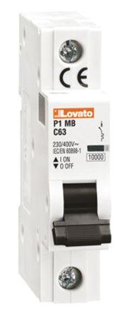 Lovato ModuLo 4 A MCB Mini Circuit Breaker, 1P Curve B