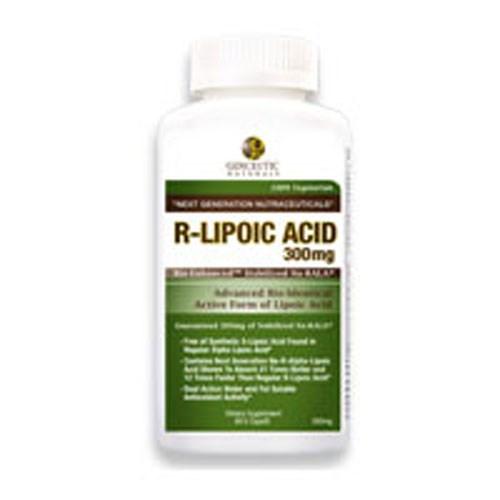 Natural R-Lipoic Acid 60 Caps by Genceutic Naturals