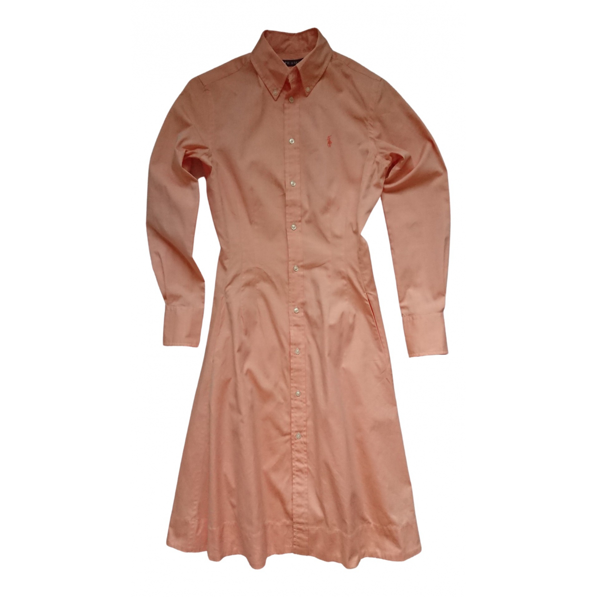 Ralph Lauren \N Pink Cotton dress for Women 2 US