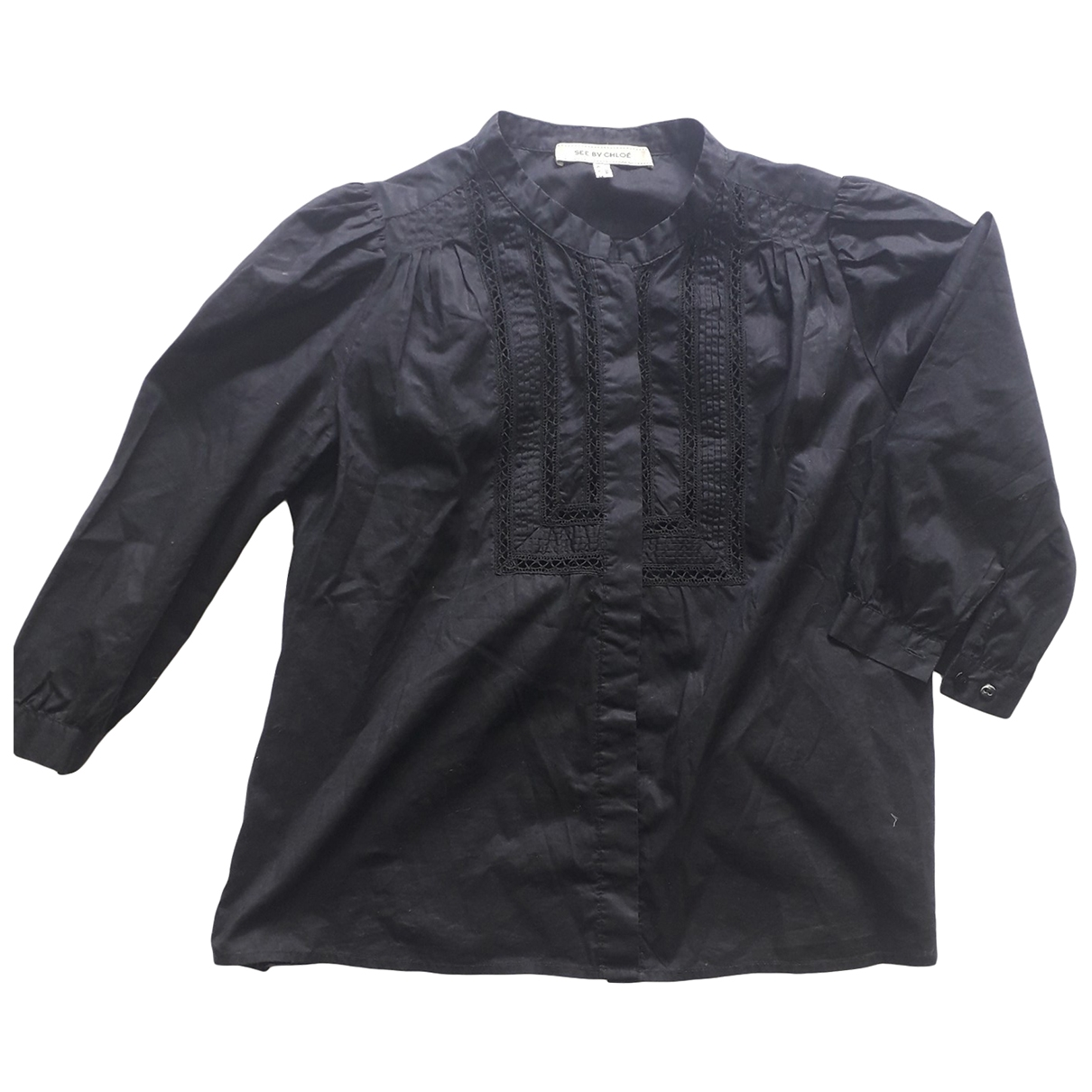 See By Chloé \N Black Cotton  top for Women 42 IT