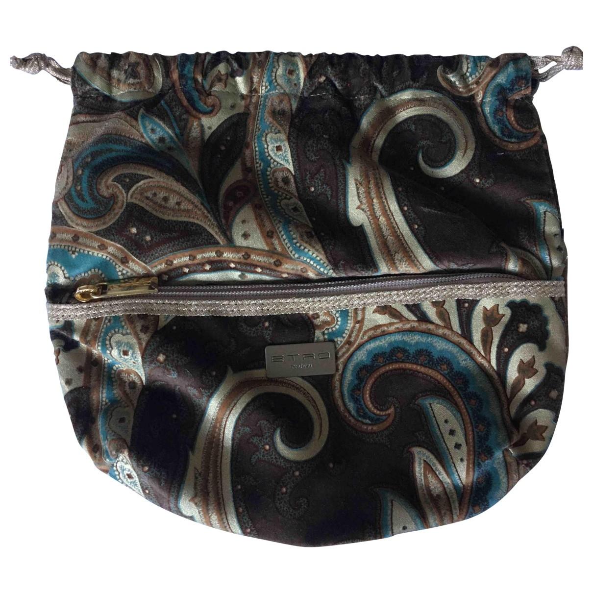 Etro \N Multicolour Velvet Clutch bag for Women \N
