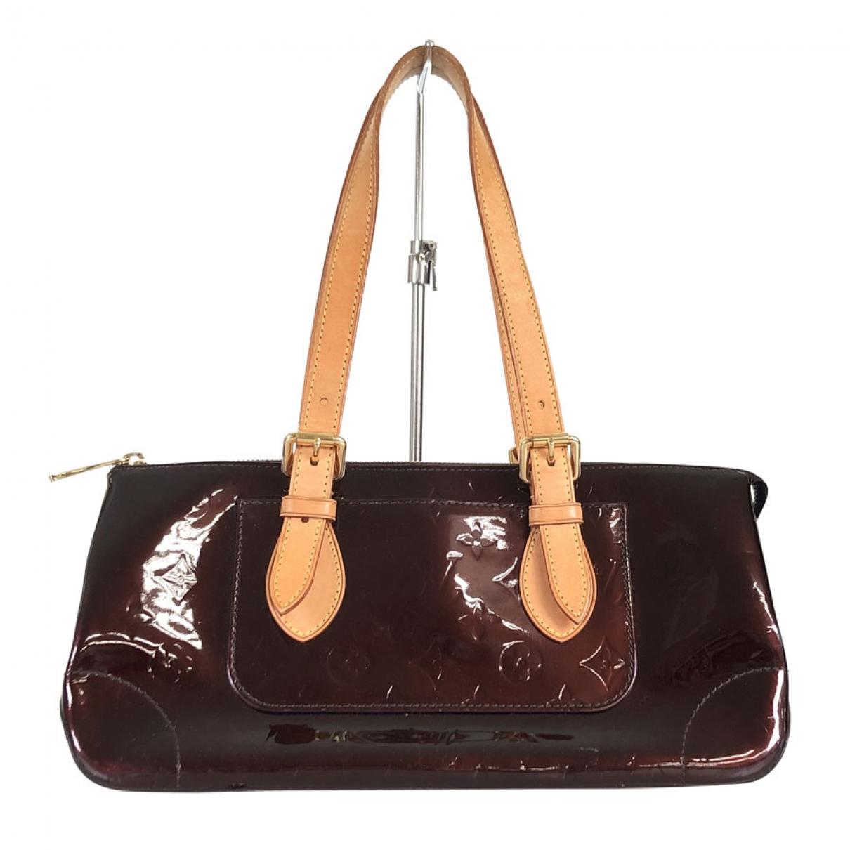 Louis Vuitton Rosewood Purple Patent leather handbag for Women \N
