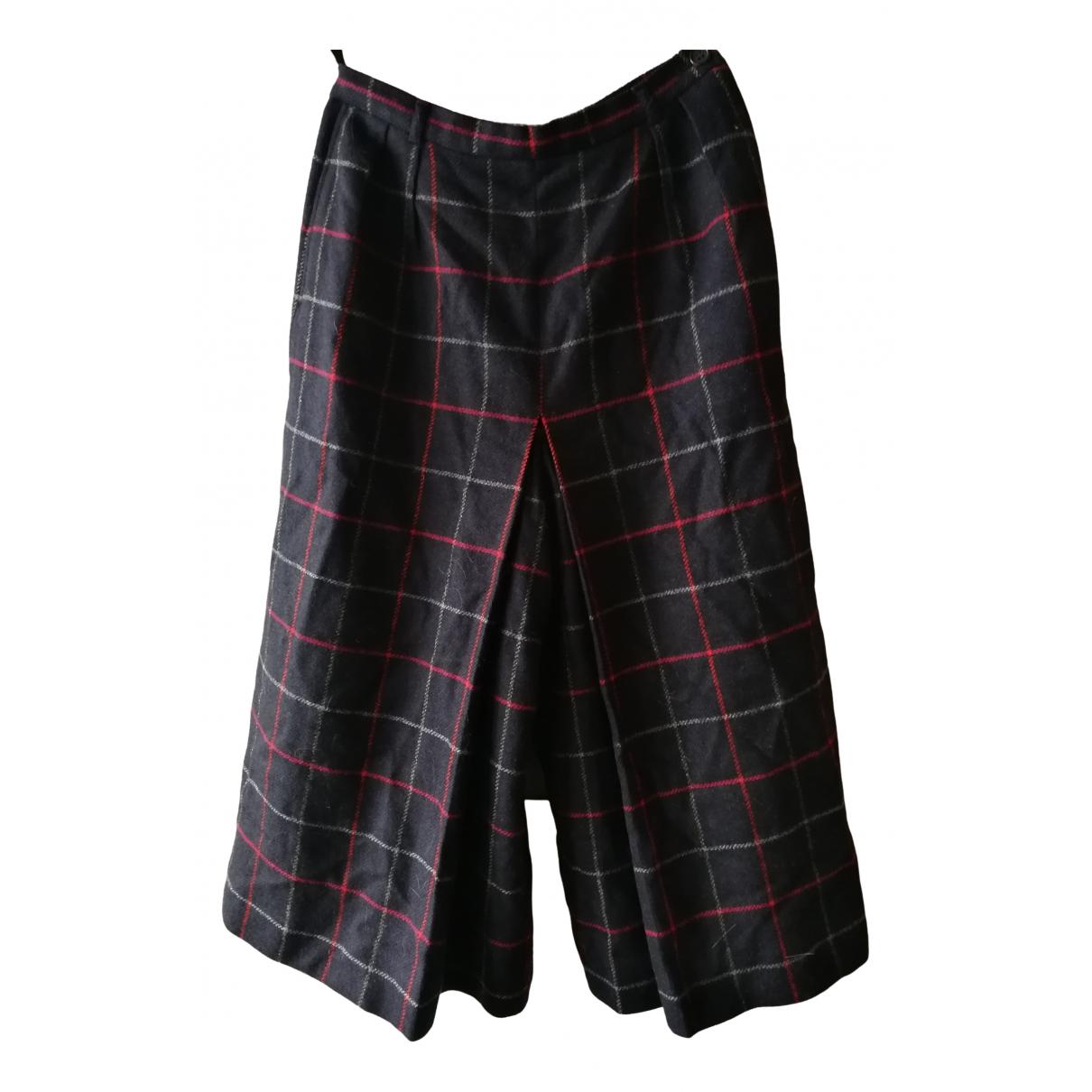 Burberry \N Navy Wool skirt for Women S International