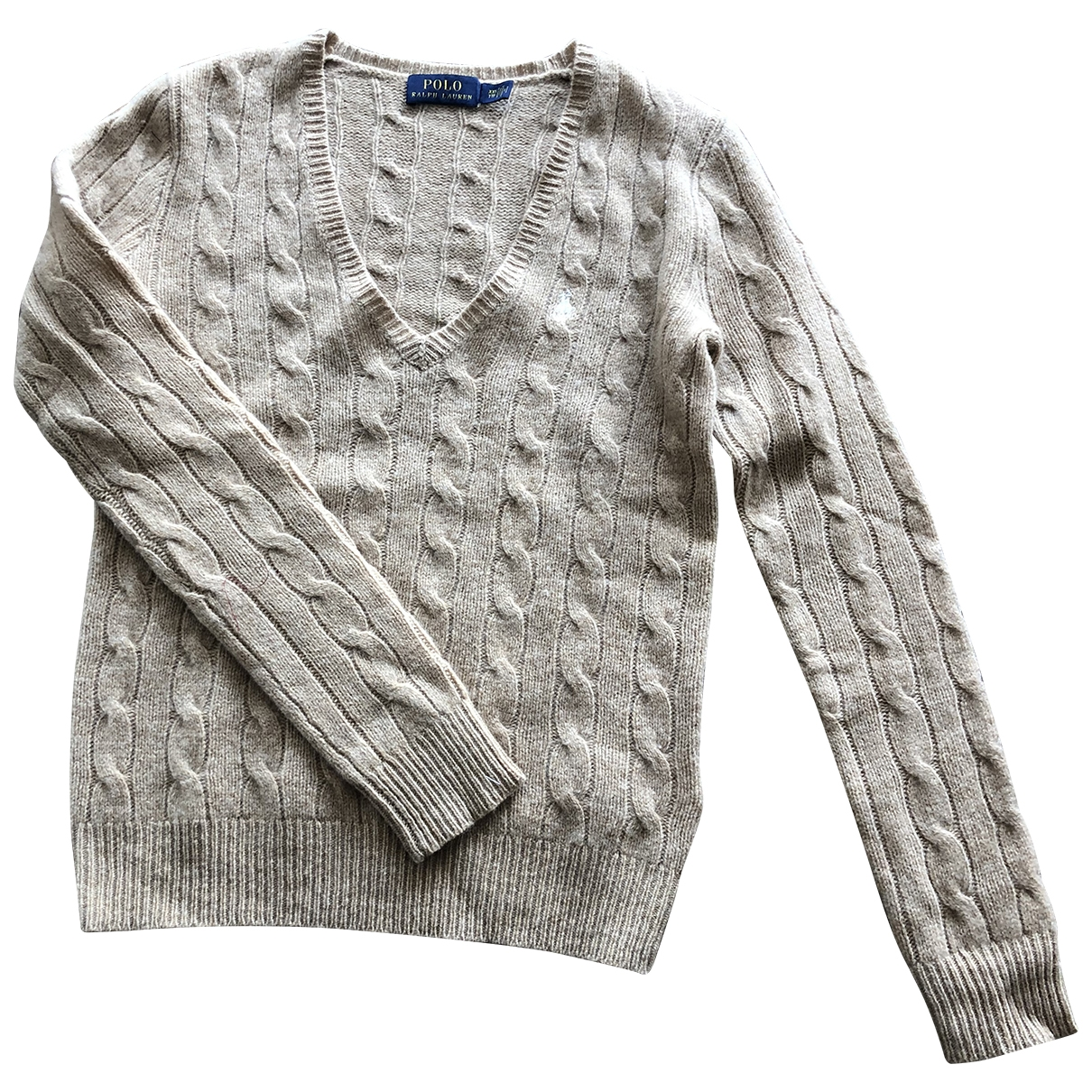 Polo Ralph Lauren \N Beige Wool Knitwear for Women XXS International