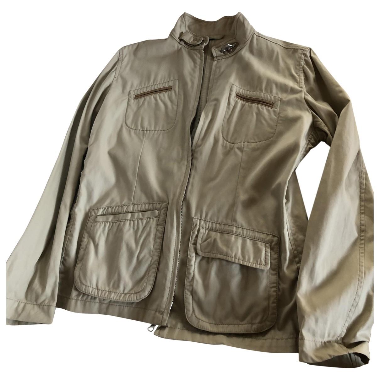 Fay \N Beige Cotton jacket for Women L International