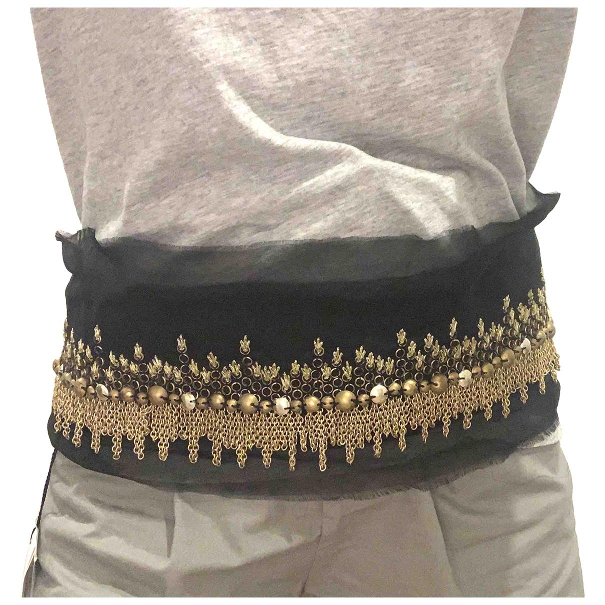 Sacai \N Black Cloth belt for Women 85 cm