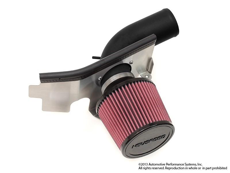 Neuspeed 65.10.48D Black P-Flo Air Intake No Air Pump - Dry Filter VW 13-17