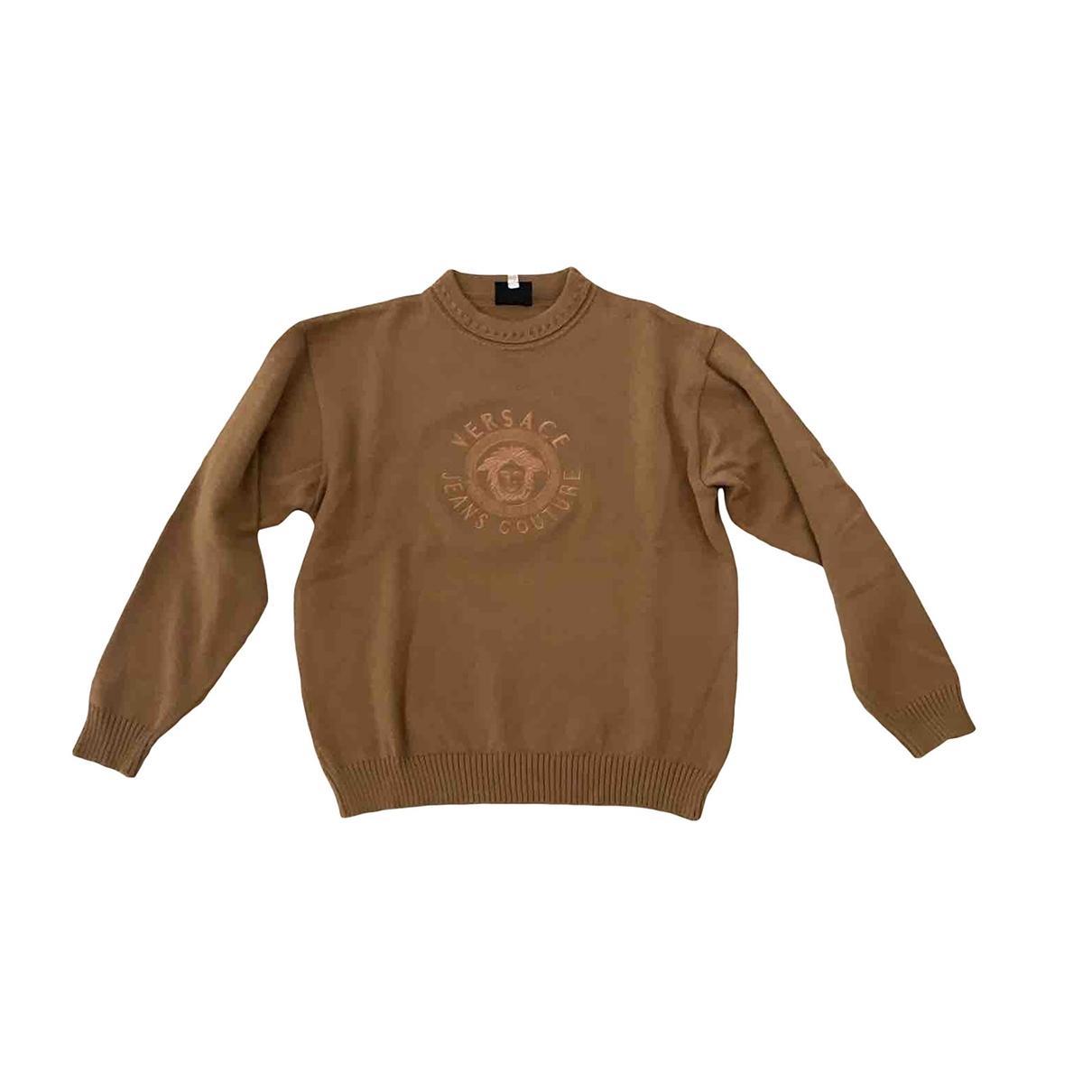Versace Jeans \N Beige Wool Knitwear & Sweatshirts for Men S International