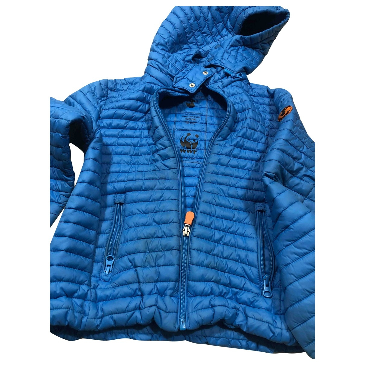 Save The Duck \N Blue jacket & coat for Kids 8 years - up to 128cm FR