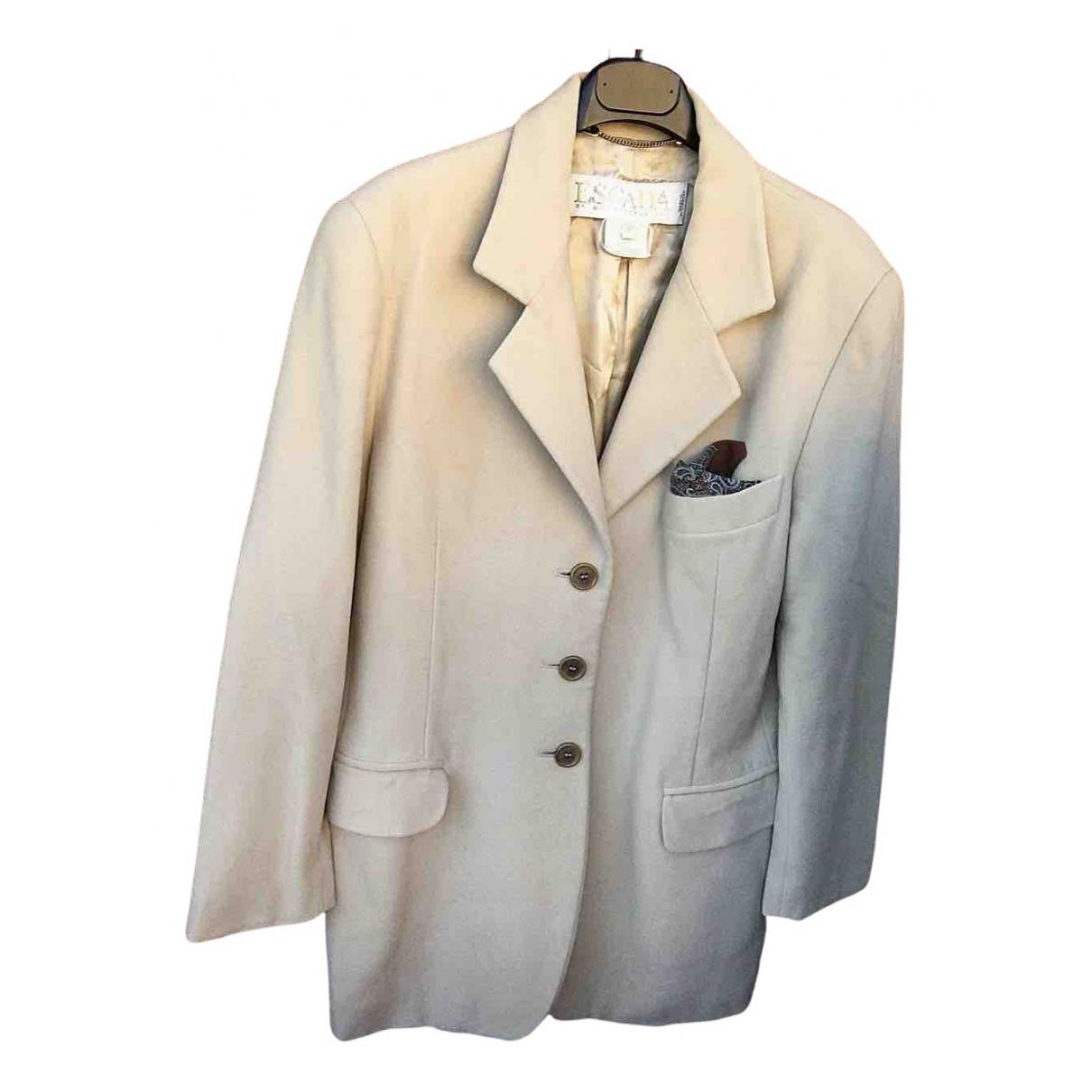 Escada \N Beige Wool jacket for Women 40 IT