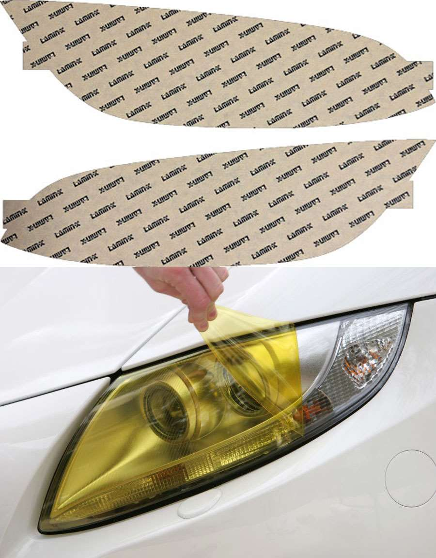 BMW M3 Coupe 08-13 Yellow Headlight Covers Lamin-X B024Y