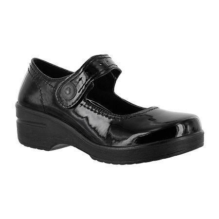 Easy Works By Easy Street Womens Letsee Mary Jane Shoes, 10 Medium, Black