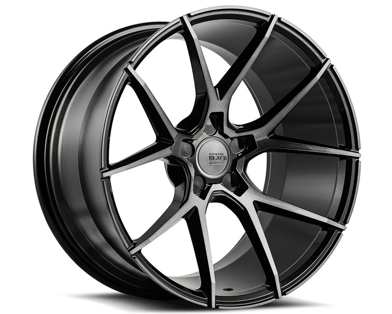 Savini BM14-22090508D2064 di Forza Gloss Black with Double Dark Tint BM14 Wheel 22x9.0 5x108 20mm