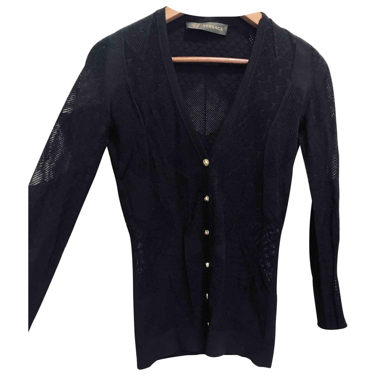 Versace \N Black  top for Women 38 IT