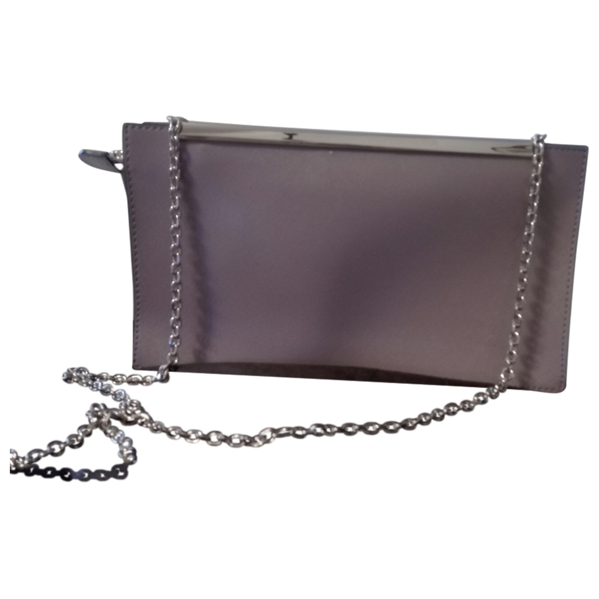 Coccinelle \N Pink Leather Clutch bag for Women \N