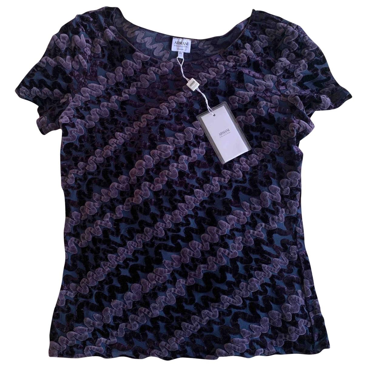 Armani Collezioni \N Purple  top for Women 48 IT