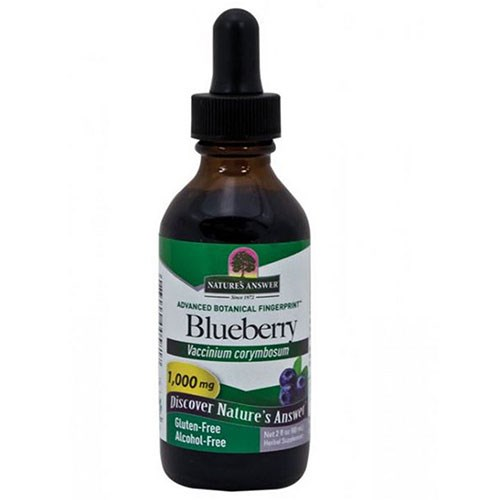 Blueberry Fruit Alcohol Free, 2 Oz by Nature's Answer
