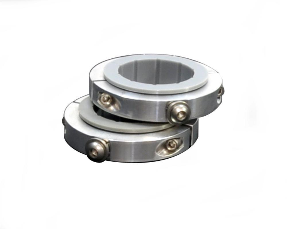 Power Tank ABC-1030-225 Aluminum Roll Bar Clamps Daystar Pro-Mount 2.25 Inch (2,1/4 Inch Diameter
