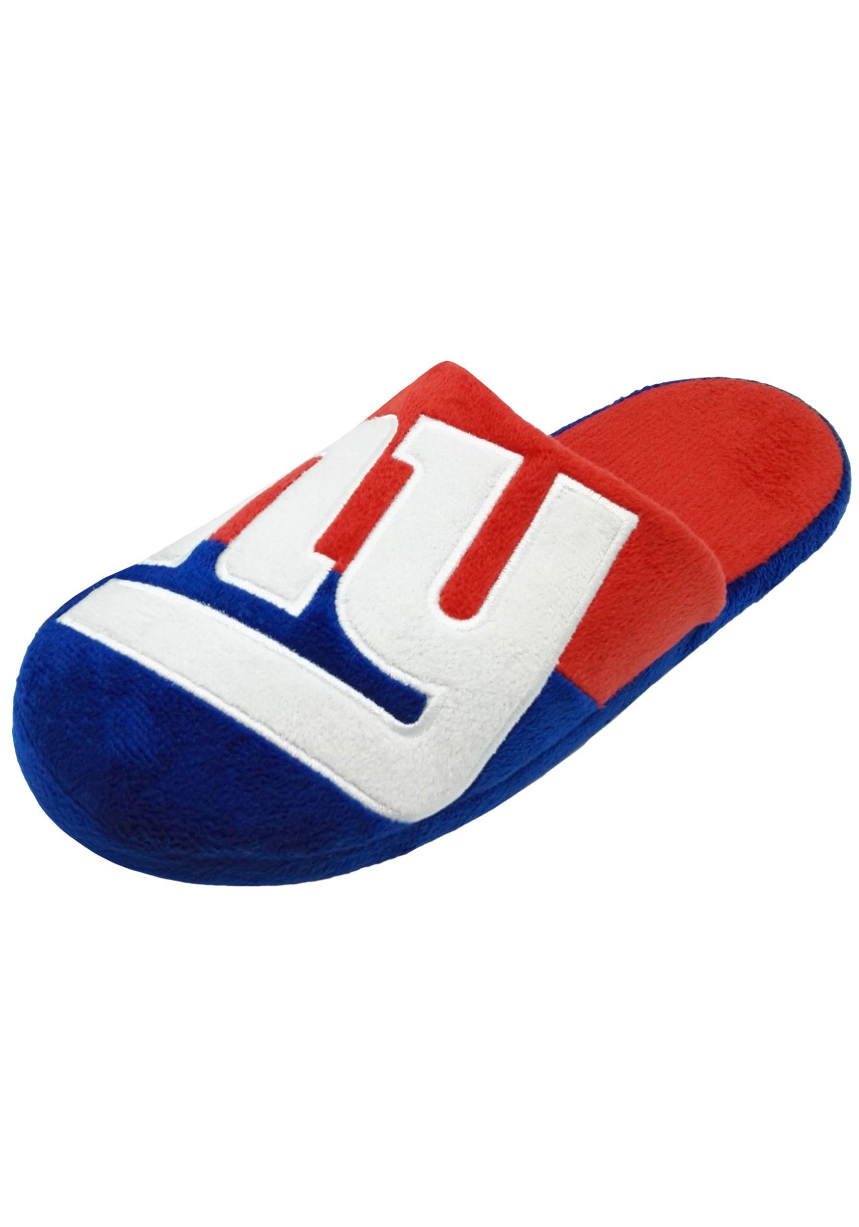 New York Giants Colorblock Slide Slippers