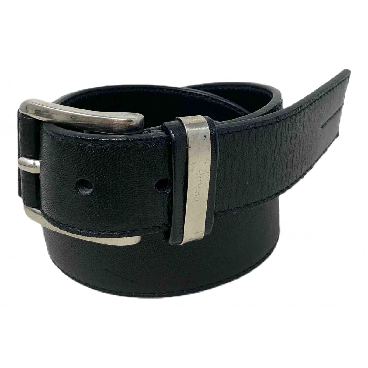 Prada \N Black Leather belt for Women 85 cm