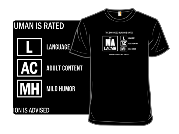 Viewer Discretion Is Advised T Shirt