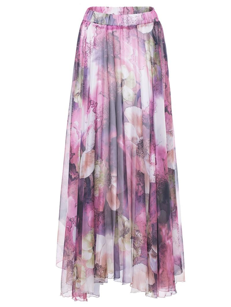 Ericdress Floral Ankle-Length Women's Skirt