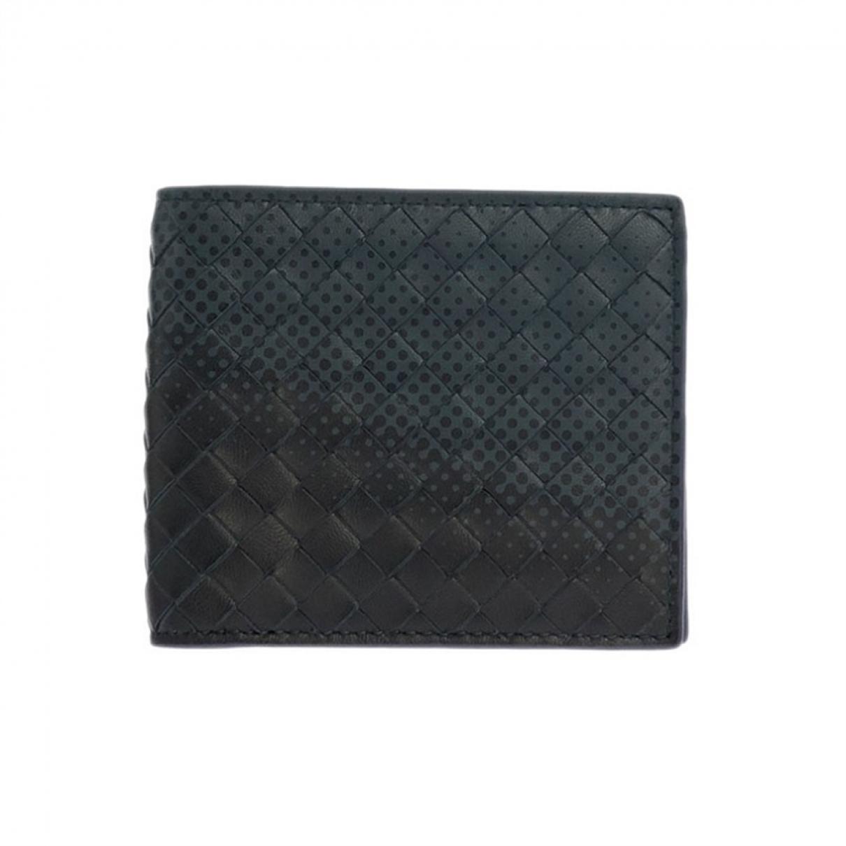 Bottega Veneta \N Black Leather Small bag, wallet & cases for Men \N