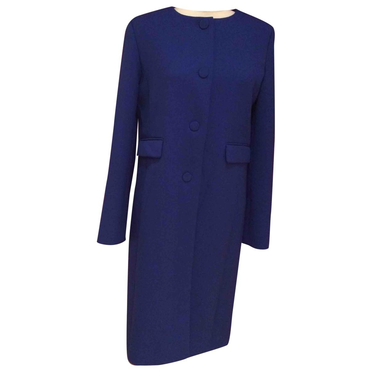 Agnès B. \N Blue coat for Women 36 FR
