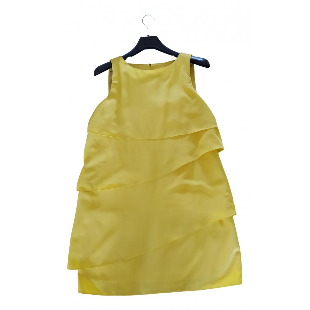 Zara \N Yellow dress for Women 44 FR