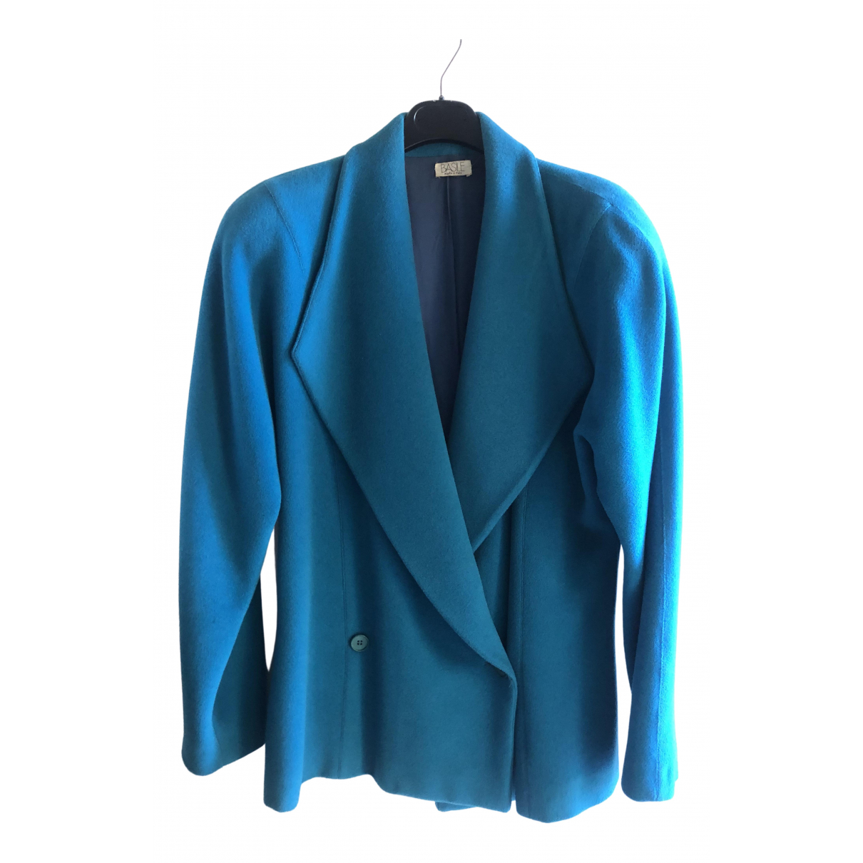 Basile \N Turquoise Wool jacket for Women One Size IT