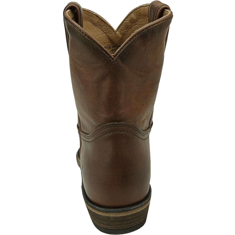 Frye Women's Billy Short Cognac Mid-Calf Leather Boot - 8.5M